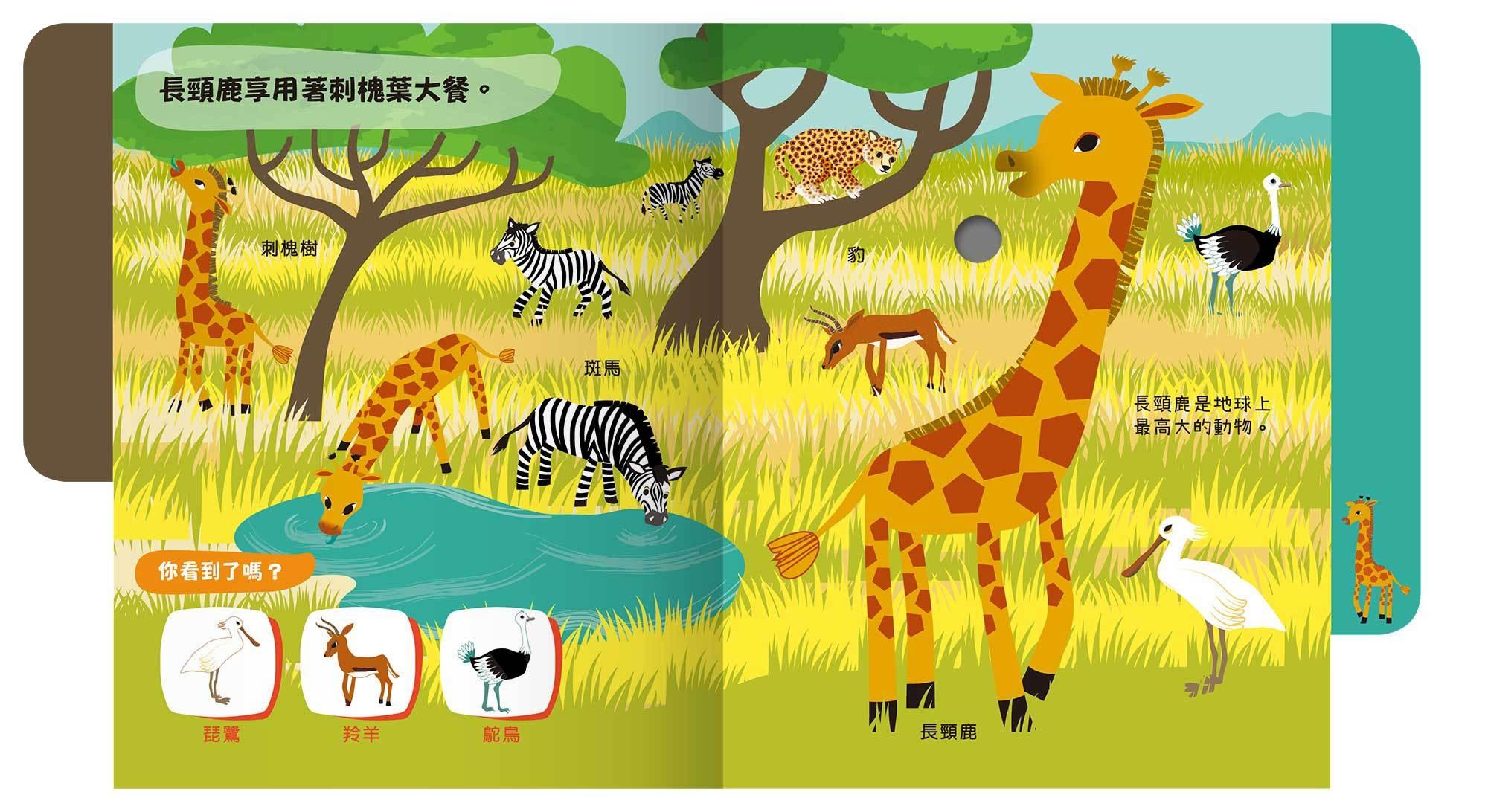 寶貝想聽- 草原動物的聲音