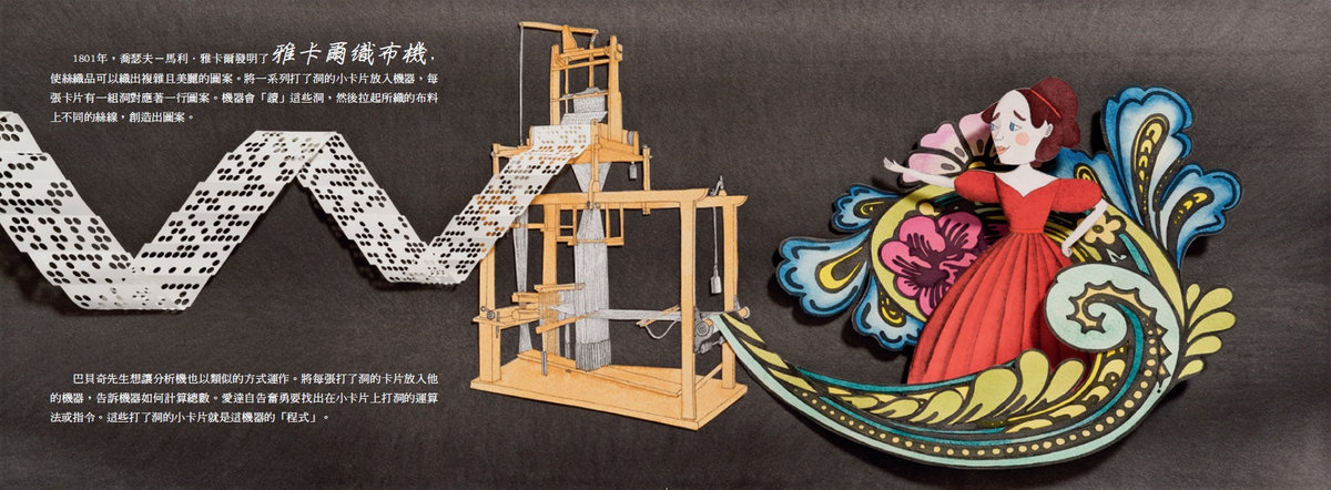 愛達的想像力-世界上第一位程式設計師