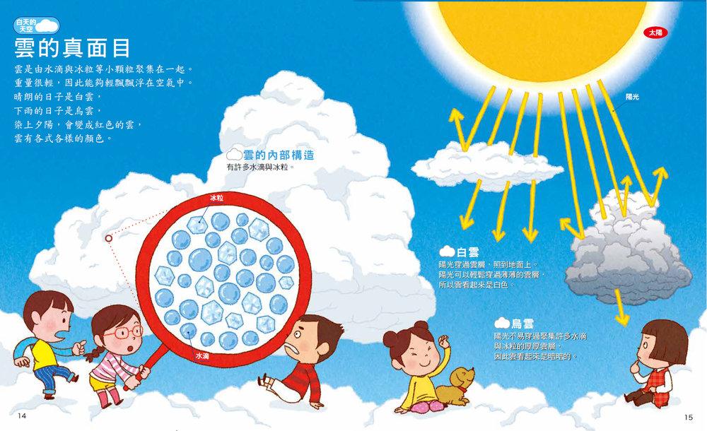 天空的繪本──認識天氣與星星