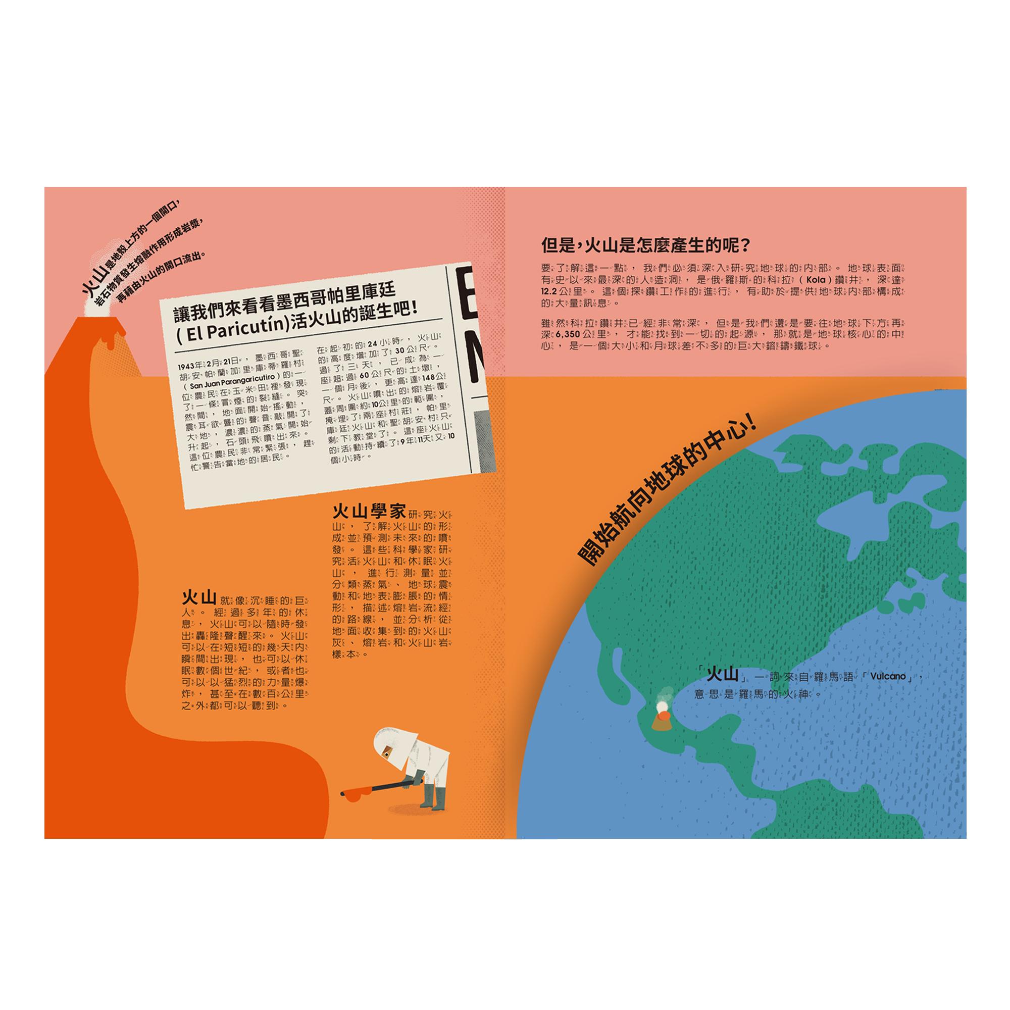 解剖火山密碼